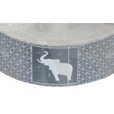 1141817 Schmitz Лента световозвращающая белая с логотипом Schmitz