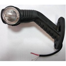 W01-1201 Фонарик габаритный рожок боковой светодиодный LED Truck Light